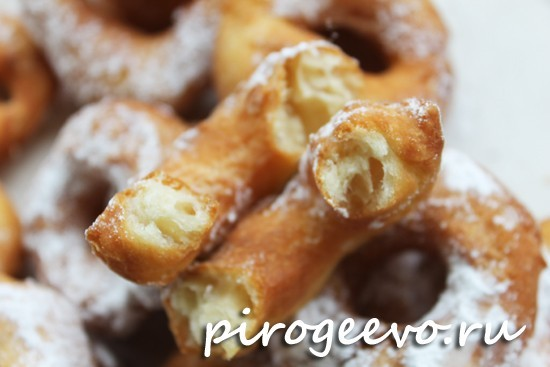 Рецепт пышных пончиков в домашних условиях 45