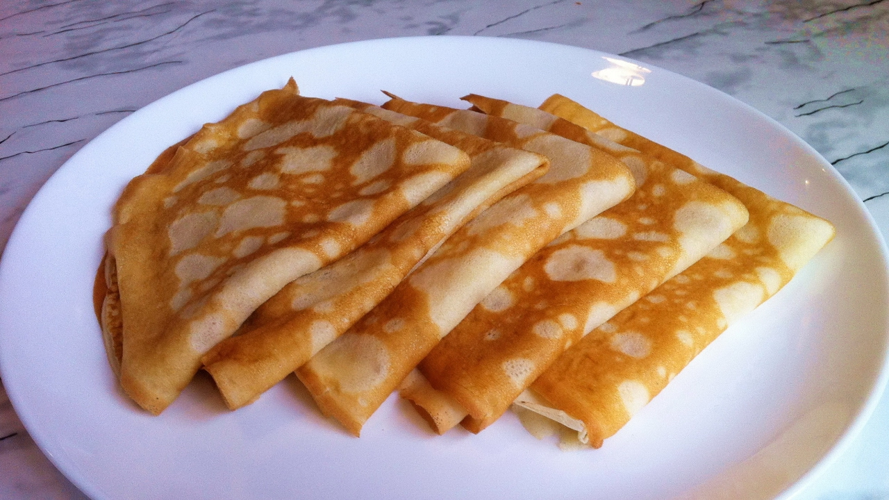 Заварные блины на молоке - пошаговый рецепт с фото на Повар. ру