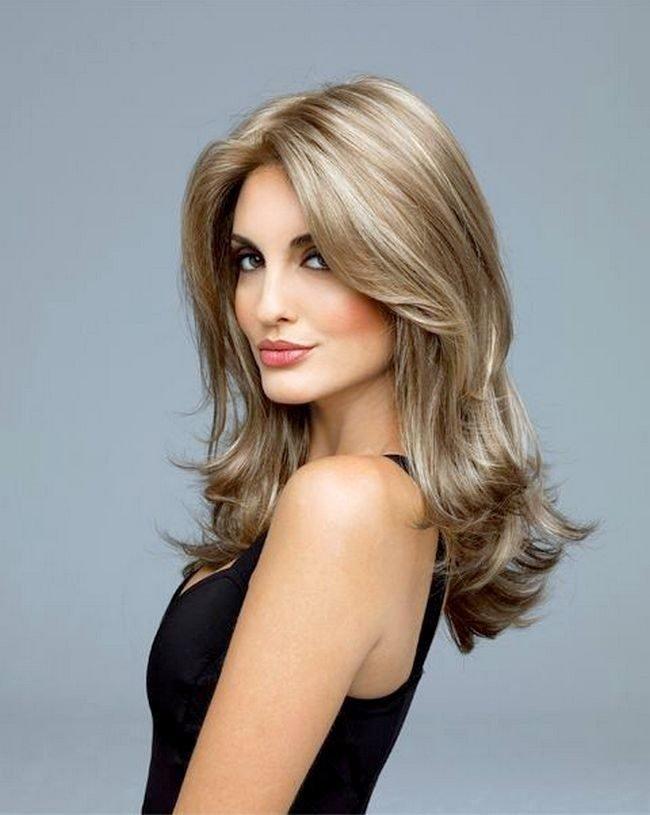 Cabello de longitud media. Cortes de pelo para cabello mediano para ...