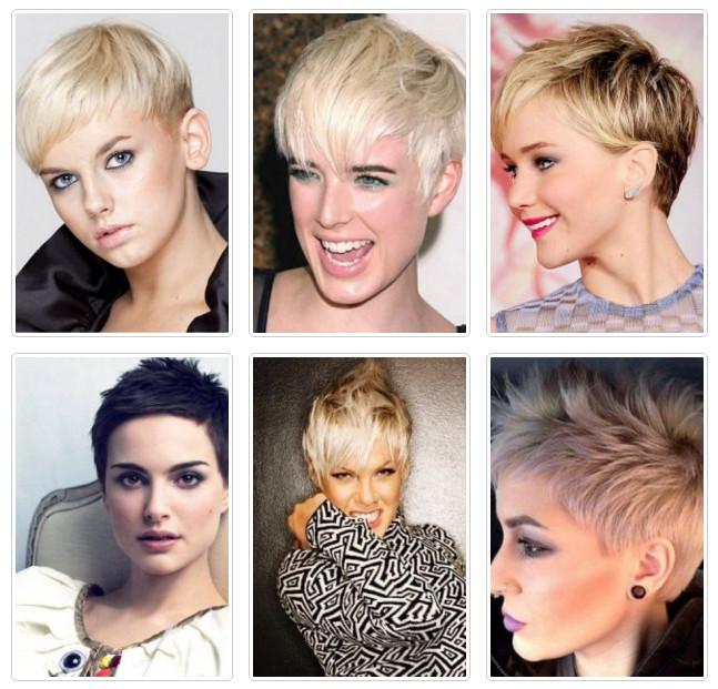 Модные стрижки 2017 на короткие волосы для женщин за 40 лет 17
